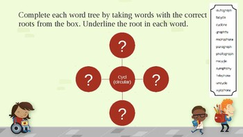 Root Words Exercise