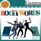 Root Words Games and Flashcards