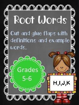 Root Words (HIJK)