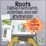 Root Words Interactive Activities for Google Classroom and One Drive