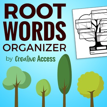 Root Words Note-Taking Organizer for Interactive Notebooks