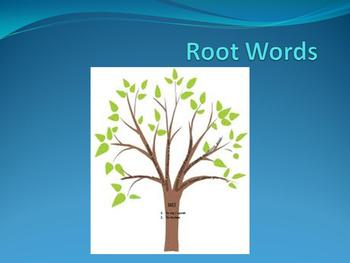 Root Words - Part 2