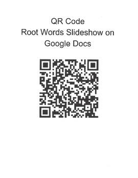 Root Words Practice