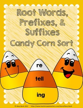 Root Words, Prefixes, and Suffixes Matching Game