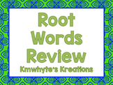 Root Words Review