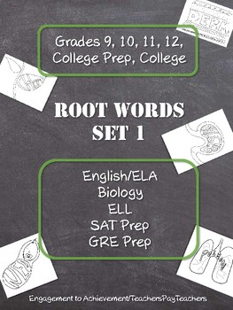 Root Words - Set 1
