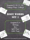 Root Words - Set 1