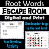 Root Words Escape Room - ELA (Vocabulary Game)