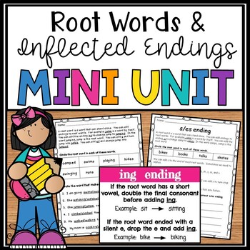 Root Words and Inflectional Endings- s,ed,ing