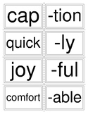 Root Words and Suffixes
