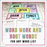 Root Words Worksheets and Activities