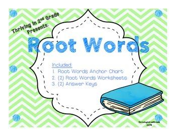 "Root Words ""mini"" Pack"