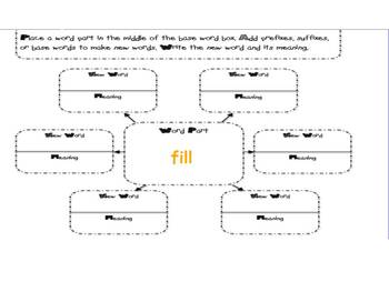 Root Words presentation and activities