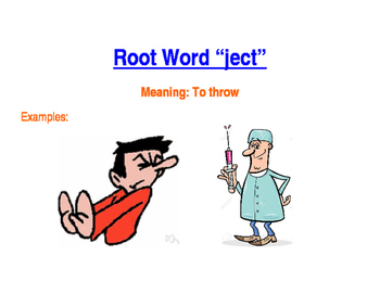 Root -ject Poster
