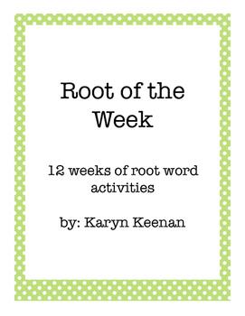 Root of the Week