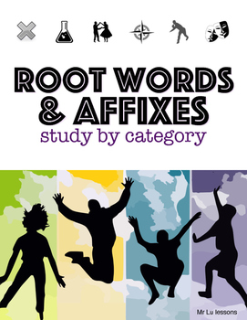 Root word, prefix and suffix study