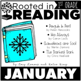 Rooted in Reading 1st Grade:  January Read Aloud Lesson Plans and Activities