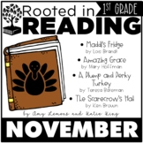 Rooted in Reading 1st Grade:  November Read Aloud and Lessons