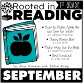 Rooted in Reading 1st Grade:  September Read Aloud Lesson Plans and Activities