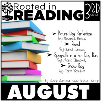 Rooted in Reading 3rd Grade:  August {Read Aloud Lessons and Activities}