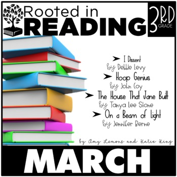 Rooted in Reading 3rd Grade:  March {Read Aloud Lessons and Activities}