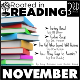 Rooted in Reading 3rd Grade:  November  {Read Aloud Lessons & Activities}