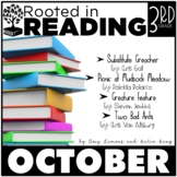 Rooted in Reading 3rd Grade:  October {Read Aloud Lessons & Activities}