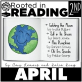Rooted in Reading 2nd Grade April:  Read Aloud Lessons and Activities