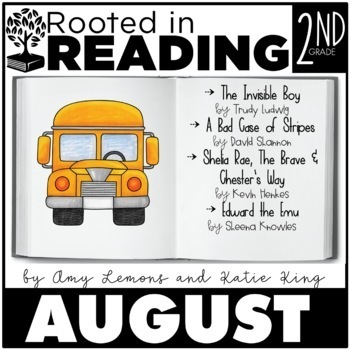 Rooted in Reading 2nd Grade August:  Read Aloud Lessons and Activities
