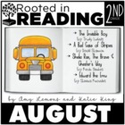 Rooted in Reading August:  August Read Aloud Lessons and Activities