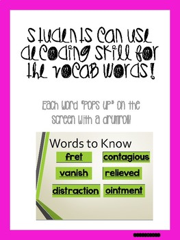 August Bundle! Vocabulary PowerPoints match Rooted in Reading 2nd grade books