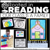 Rooted in Reading Digital and Printable:  Our Class is a Family
