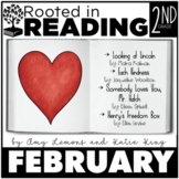 Rooted in Reading 2nd Grade February:  Read Aloud Lessons and Activities