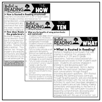 Rooted in Reading:  Info, Research, & Teacher Testimonies