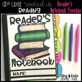 Rooted in Reading: Interactive Notebook Tabs and Cover