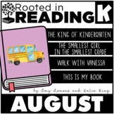 Rooted in Reading Kindergarten August:  Read Aloud Lessons and Activities