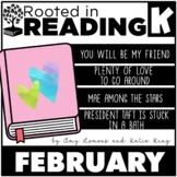 Rooted in Reading Kindergarten February: Read Aloud Lessons and Activities