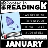 Rooted in Reading Kindergarten January: Read Aloud Lessons and Activities