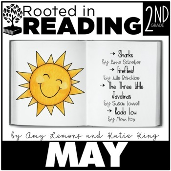 Rooted in Reading 2nd Grade May:  Read Aloud Lessons and Activities