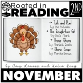 Rooted in Reading 2nd Grade November: Read Aloud Lesson and Activities
