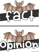 Rooted in Reading October FREEBIE:  Fact and Opinion with Bats