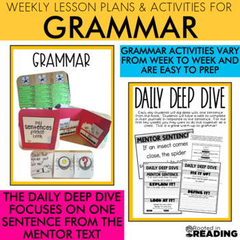 Rooted in Reading October {Read Aloud Lessons and Activities}