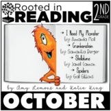 Rooted in Reading 2nd Grade October:Read Aloud Lessons and Activities