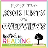 Rooted in Reading:  Overviews and Book Lists for Grades 1-3