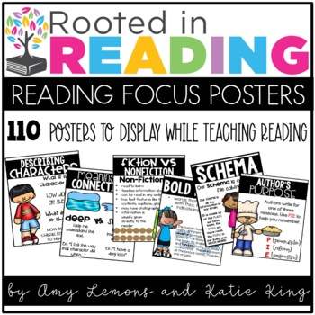 Rooted in Reading:  Reading Focus Posters