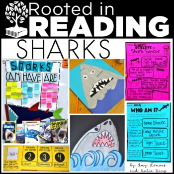 Rooted in Reading:  SHARKS!