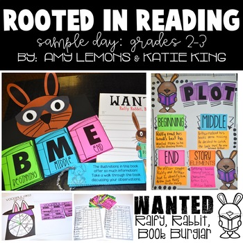 Rooted in Reading:  Sample Day