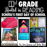 Rooted in Reading:  School's First Day of School
