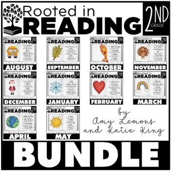 Rooted In Reading The Bundle By Amy Lemons Teachers Pay