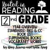 Rooted in Reading: Book List, Year Overview, Standards, Su